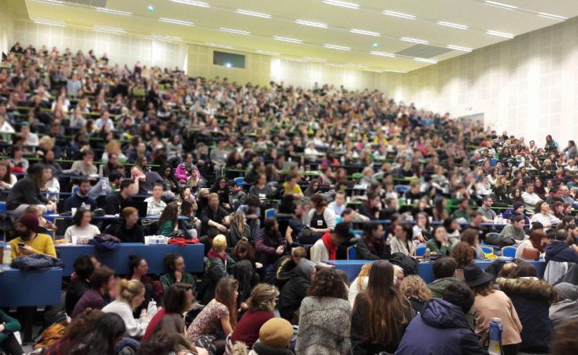 mobilisation étudiante