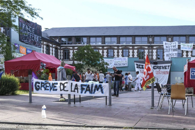 grèves de la faim