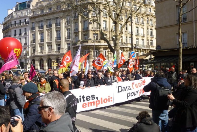 grève interprofessionnelle