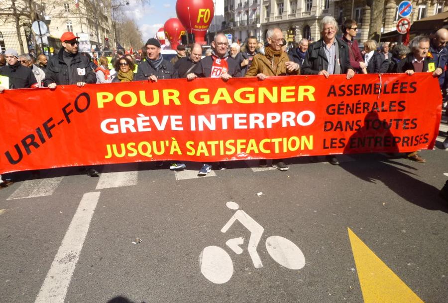 19 mars: une grève interprofessionnelle très forte dans les écoles