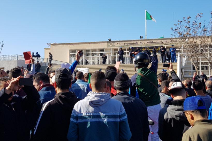 Algérie grève générale