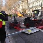 Gilets jaunes: polémique autour du maintien de l'ordre à Toulouse