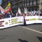 Des milliers d'enseignants manifestent à Paris contre la loi Blanquer