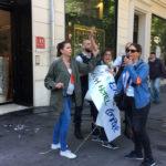 Marseille: intervention policière et gardes à vue contre le piquet de grève des femmes de chambre