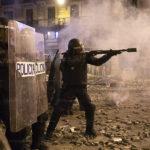 Quatre manifestants éborgnés par des tirs de flashball en Catalogne