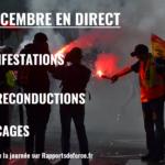 Le 5 décembre : la grève en direct