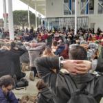 Bataille des blocages au lycée et à l'université