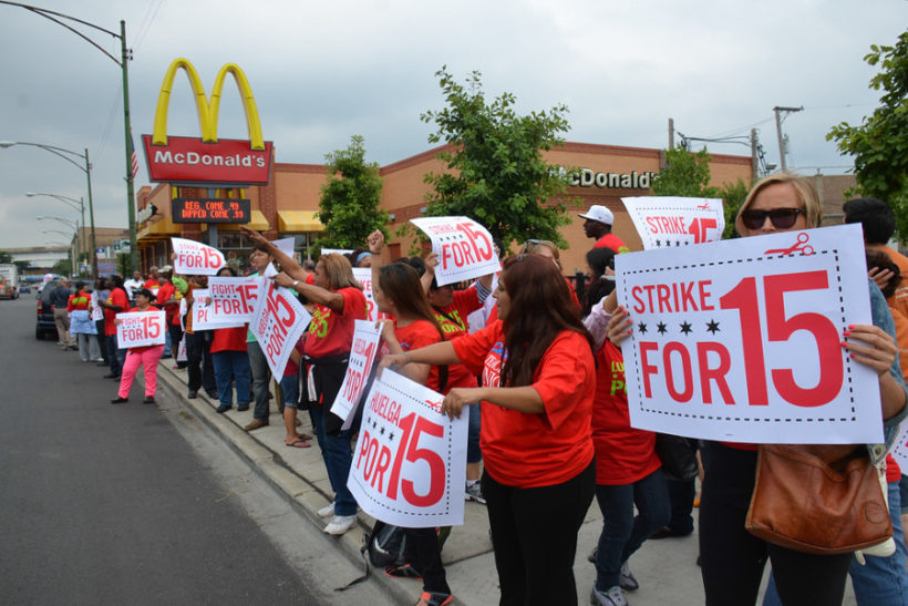 grèves de masse
