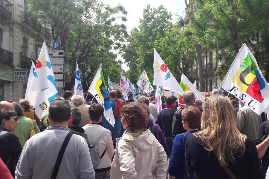 Grève dans l'éducation : un avertissement pour le gouvernement   Rapports de Force