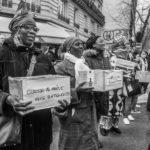 Rassemblement devant l'Ibis Batignolles pour les 20 mois de lutte des femmes de chambre