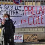 Éducation: les pions repartent en grève enmars