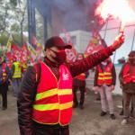 Début d'une grève dure à la Fonderie De Bretagne