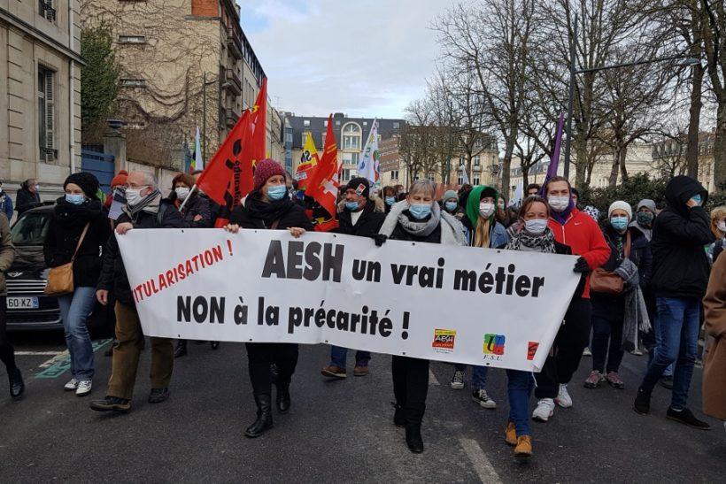 grève AESH