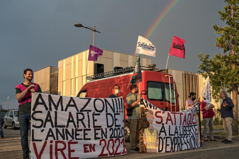 Amazon salarié licencié