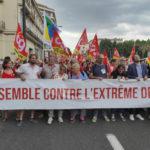 Perpignan : 2000 manifestants contre la banalisation du RN