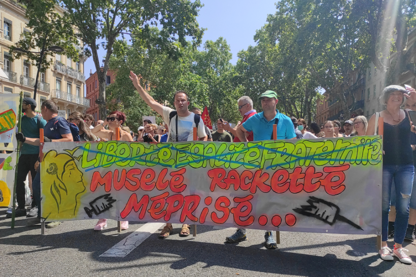 Toulouse anti-passe sanitaire