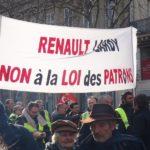 Grève chez Renault contre 2000 suppressions d'emplois supplémentaires