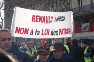 grève Renault