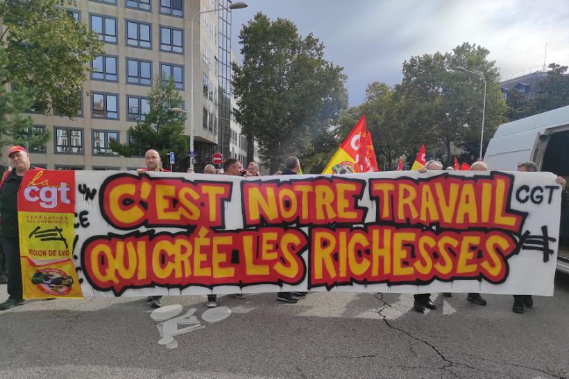 grèves manifestations 5 octobre